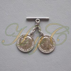 Caireles Moneda Brillo 2 piezas (pack 10 uds)