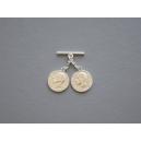 Caireles Moneda Niquel 2 piezas (pack 10 uds)