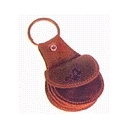 Llavero Alforja fabricada de piel