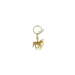 Llavero caballo pequeño fabricado bronce