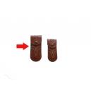 Funda navaja grande piel color avellana
