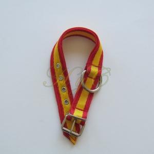 Collar NYLON Bandera España 3 Cm Ancho