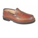 Zapato piel mod apache mocasin piso goma