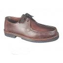 Zapato piel modelo apache cordones piso goma