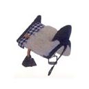 Llavero silla vaquera colgante color negro y color marron