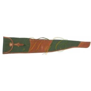 Funda Rifle sin Visor Lona Verde