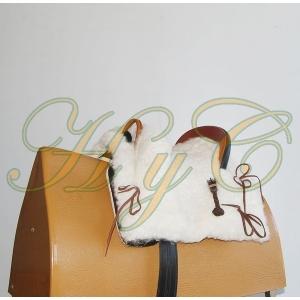 Silla Montar Mod Mixta Pony Niño Zalea Natural
