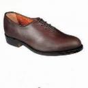 Zapato Piel Ternera Mod Polaina Cordones Piso Suela