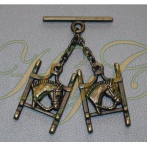Caireles Bocado Bronce 2 piezas (pack 10 uds)