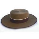 Sombrero Cordobes Ala Ancha Lana 100% Color Camel