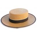 Sombrero Cordobes paja panama color camel