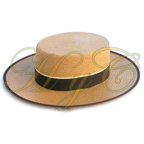 Sombrero Cordobes paja panama color camel d87c6c1aecd