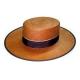 Sombrero Cordobes paja panama color marrón