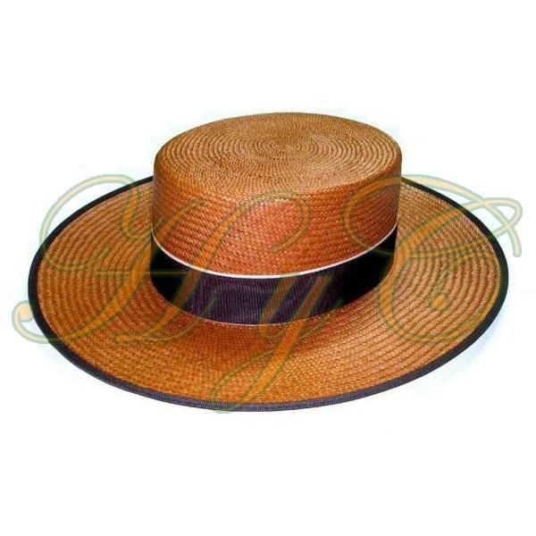 Sombrero Cordobes paja panama color marrón 3003f97d72b