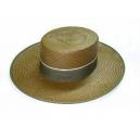 Sombrero Cordobes paja panama color kaki