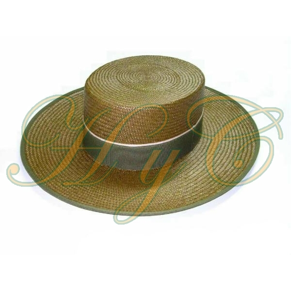 Sombrero Cordobes paja panama color kaki 8f08f76853f