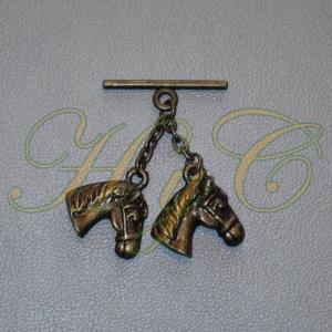 Caireles Cabeza Caballo Bronce 2 piezas (pack 10 uds)