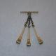 Caireles Clavo Bronce 3 piezas (pack 10 uds)