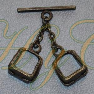 Caireles Estribo Bronce 2 piezas (pack 10 uds)