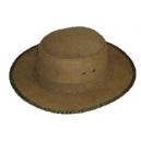 Sombrero Cordobes piel serraje color verde
