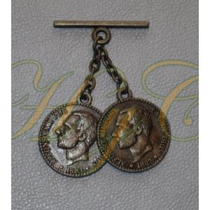 Caireles Moneda Bronce 2 piezas (pack 10 uds)
