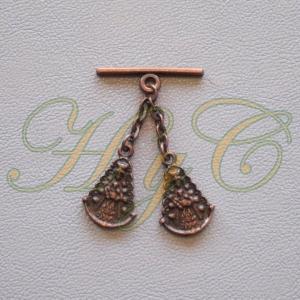 Caireles Virgen Cobre 2 piezas (pack 10 uds)