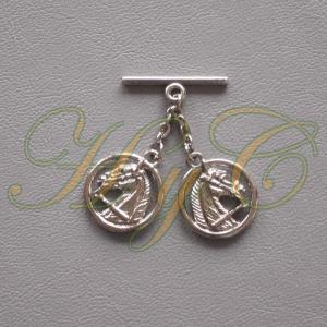 Caireles Cabeza Circulo Brillo 2 piezas (pack 10 uds)