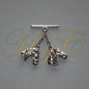 Caireles Cabeza Caballo Brillo 2 piezas (pack 10 uds)